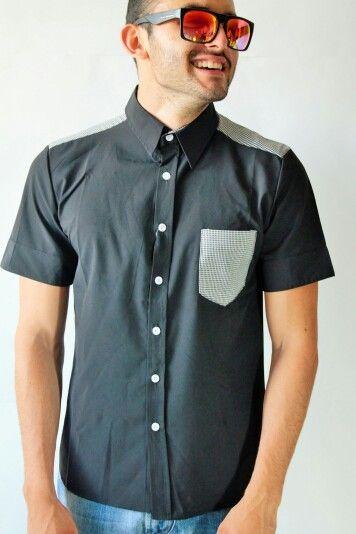 Camisa boton importada