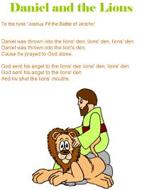 Daniel in Lion's Den Craft | Bible Songs for Summer Days | HOOKED ON THE BOOK