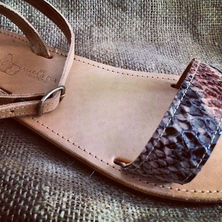 Greek handmade sandals by mara & eva !!!!