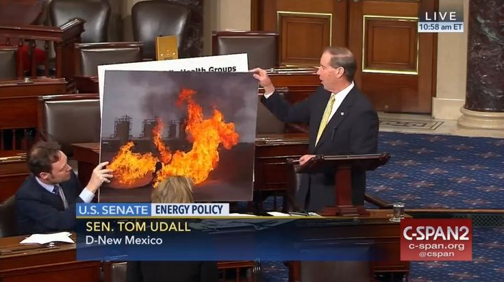 Who: Senator Tom Udall (D-New Mexico)  When: May 2017  What: Energy policy  Watch on C-SPAN  Read Congressional Record