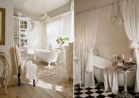 Salle de bain Shabby