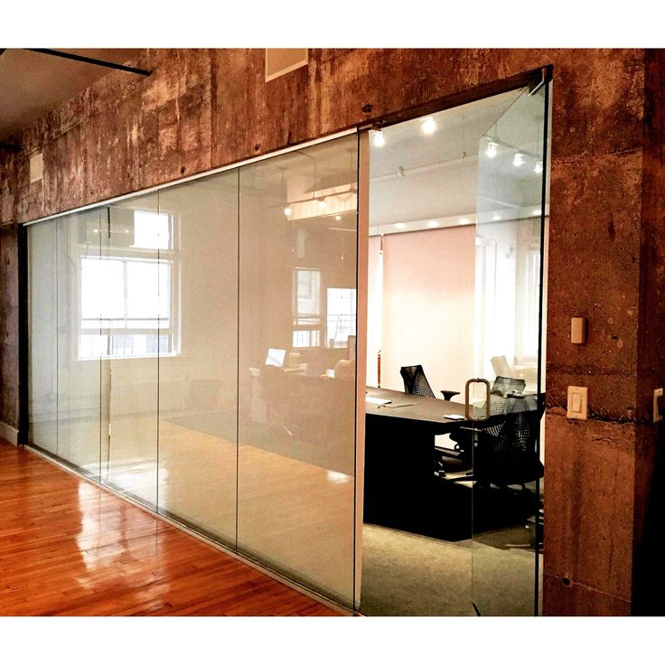 Motorized roller shades by Dr.Shade in a NYC office