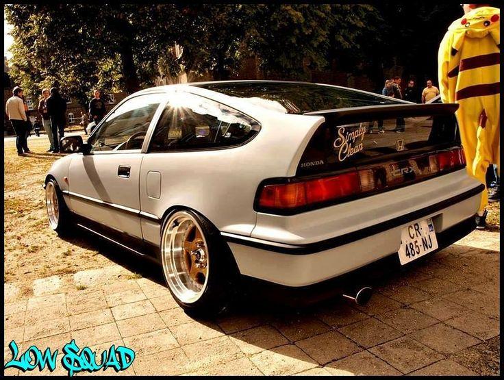 #Honda_CRX #Slammed #Stance