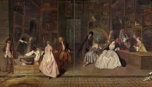 l´enseigne de gersaint, 1720 de watteau