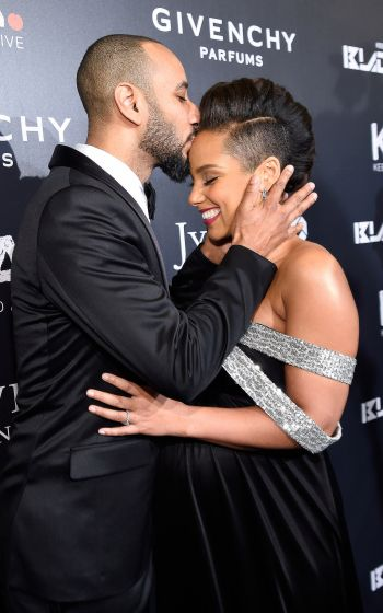 Alicia Keys and Swizz Beats are THE CUTEST