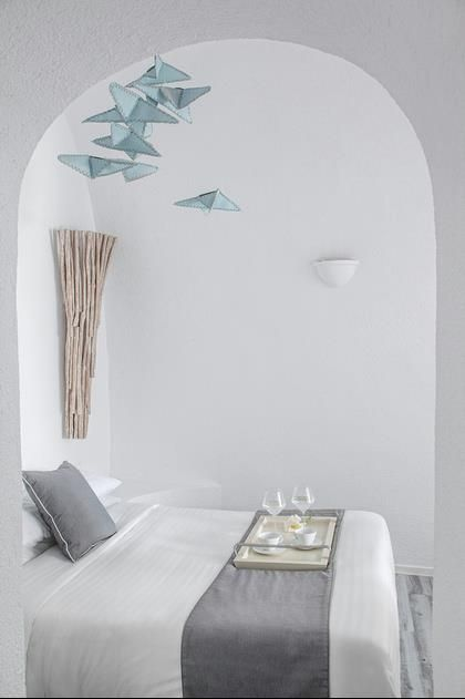 Hotel/ Santorini/ Greece.   furniture: MIA collections