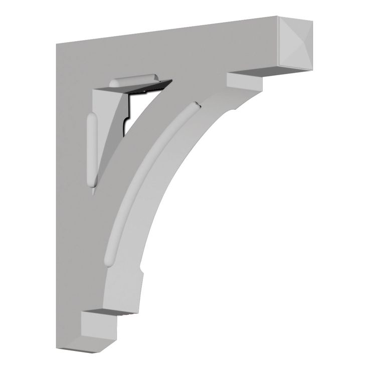 5 inch w x 31 inch d x 30 inch h bracket urethane ps for Architectural corbels and brackets