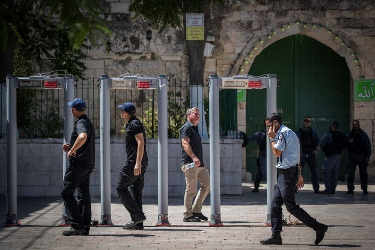 Mont du Temple: Israël ne démonte pas les détecteurs de métaux, il ajoute des caméras de surveillance !