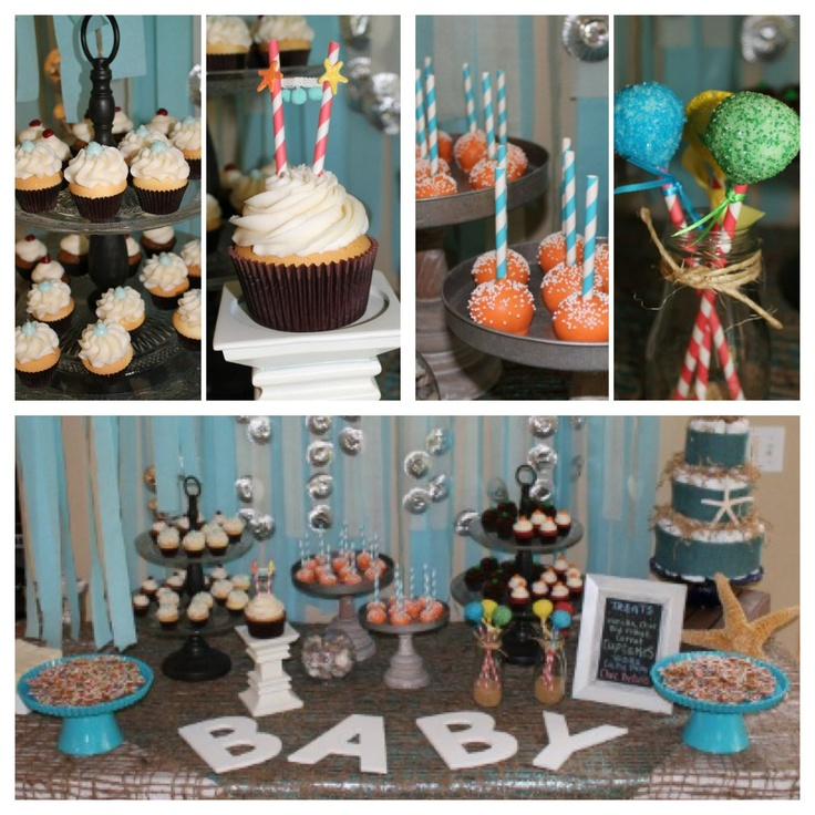 under the sea themed baby shower great ideas pinterest