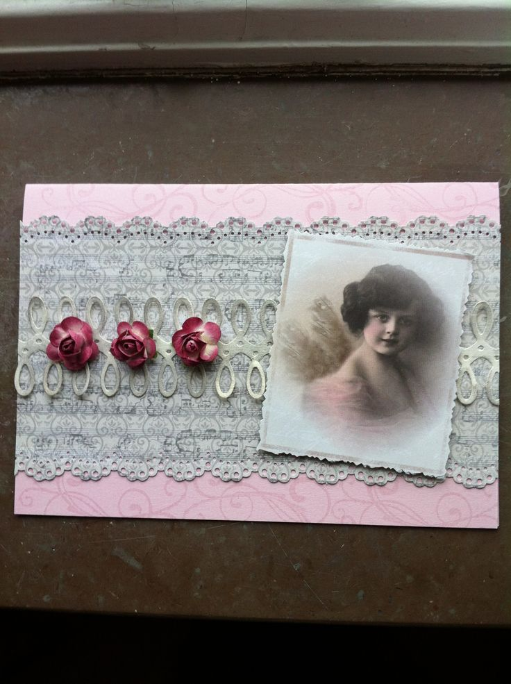 A romantic card.