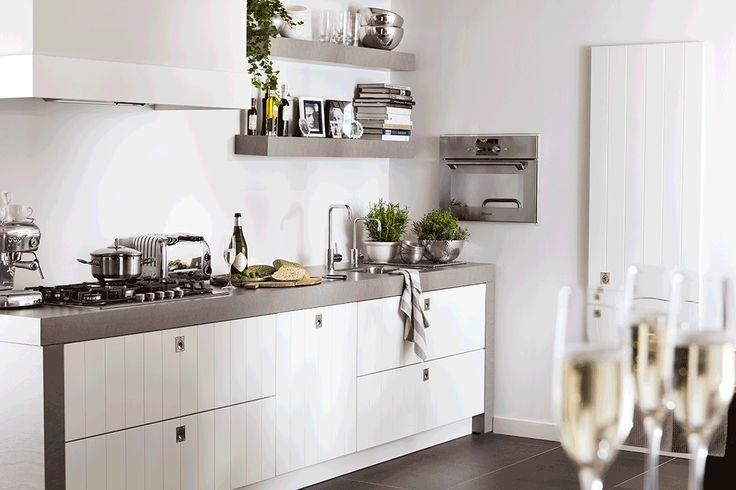 M-Collectie Keuken Peyton #rechtekeuken #betonlook