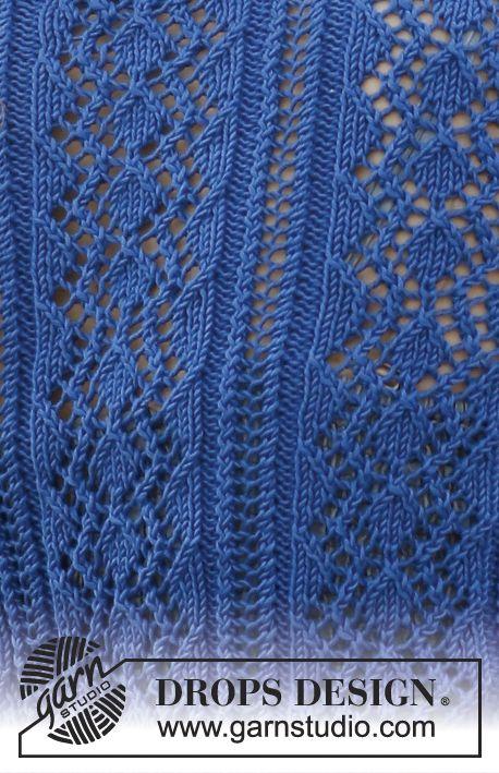 Knit lace.