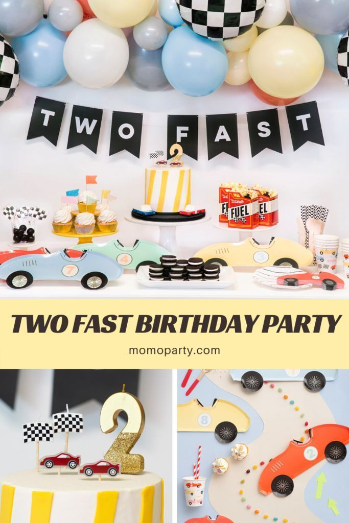 8 Most Popular 2nd Birthday Themes For Your Toddler 2nd Birthday Party For Boys Cars Theme Birthday Party Boy Birthday Party Themes
