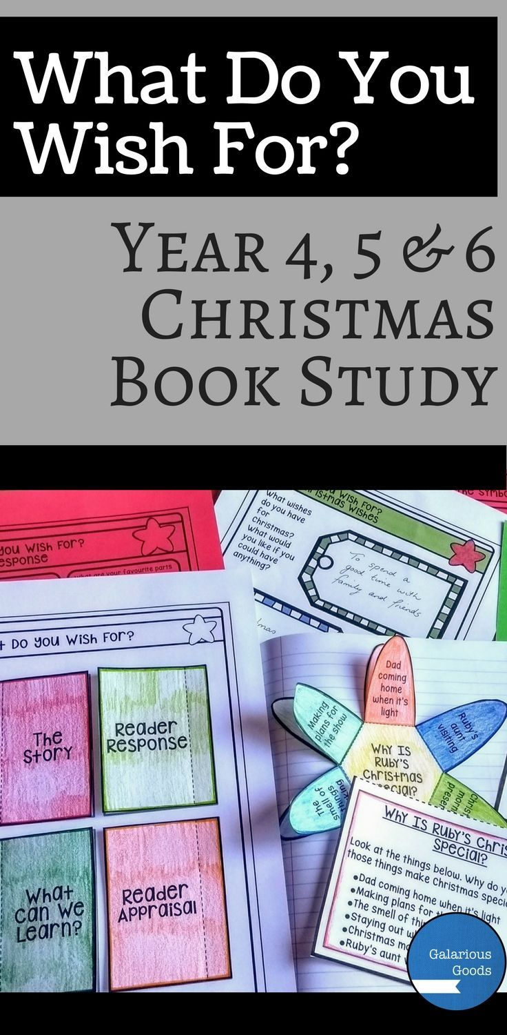 This Australian Christmas book study allows students to explore What Do You Wish For? a picture book from Jane Godwin and Anna Walker. Students engage with comprehension, reader response, symbolism, exposition and creative activities related to the book. Perfect for the end of school year rush #christmaslesson #bookstudy #picturebook #christmasbooks