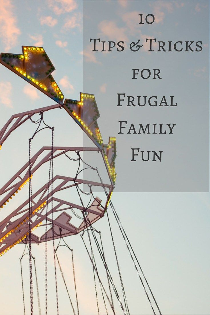 10 family activities that will provide your whole family with a lot of fun without breaking the bank.