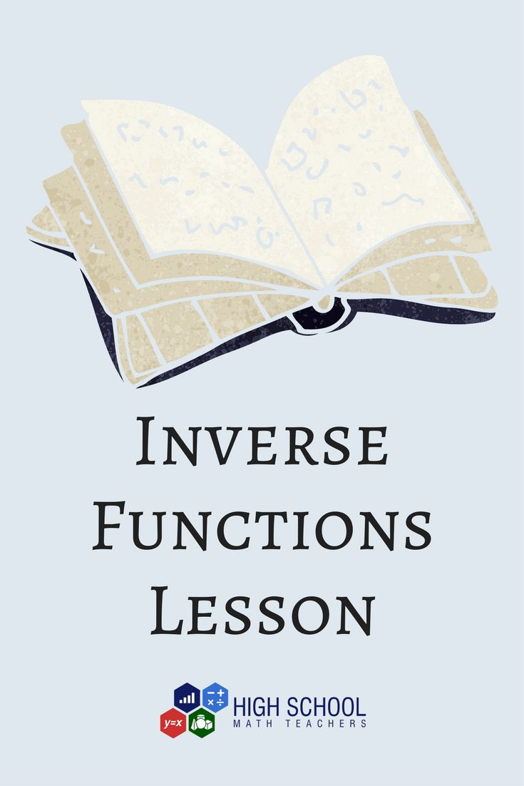 A free inverse functions lesson plan with an activity and practice to help  you teach inverse