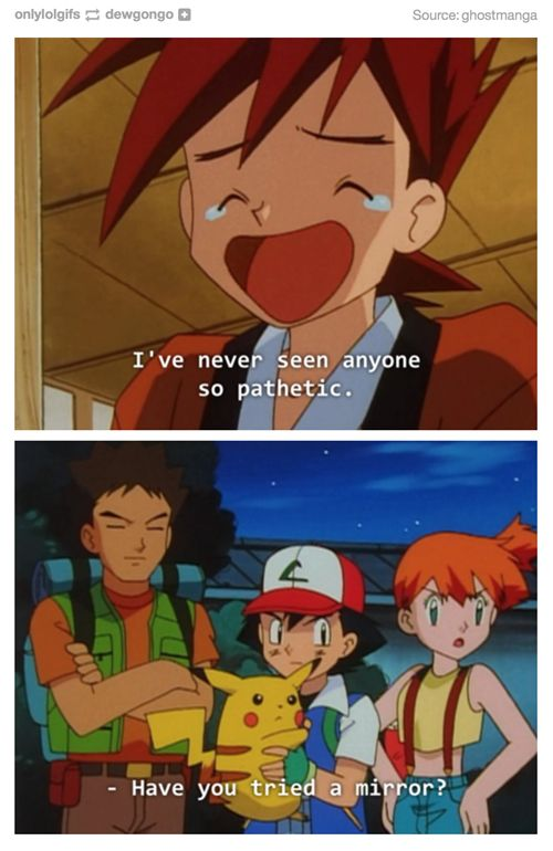 Not Even a Full Restore Will Cure That Burn, Gary- Pokemon