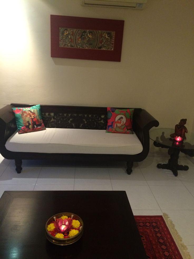 Simple elegant sofa