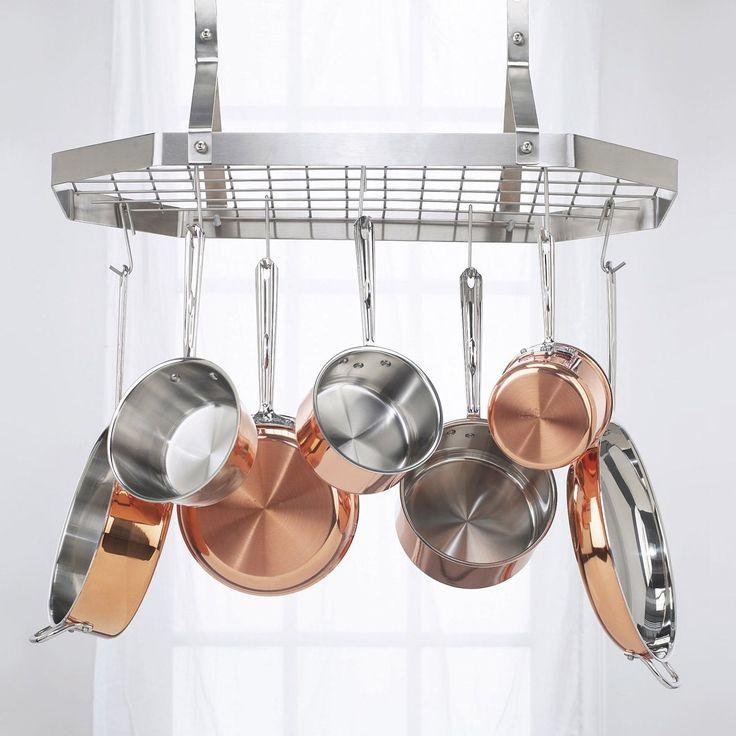 Cuisinart Octagonal Hanging Rack - Hanging Pot Racks at Hayneedle