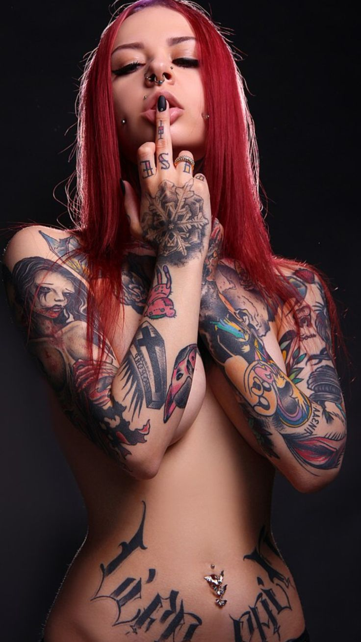 tattoo girl xxx
