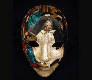 M18 maschera dipinta a mano