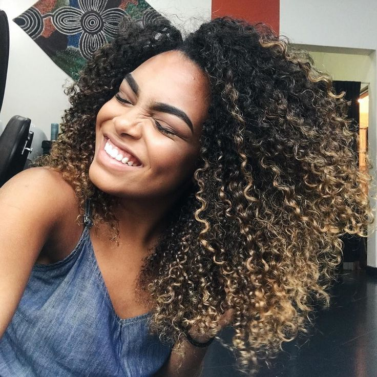 the 25 best curly highlights ideas on pinterest