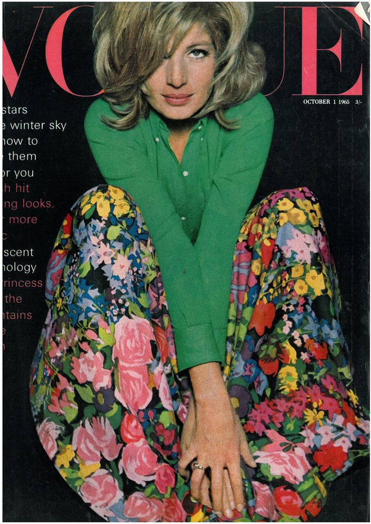 Monica, October 1st 1965 - UK Vogue
