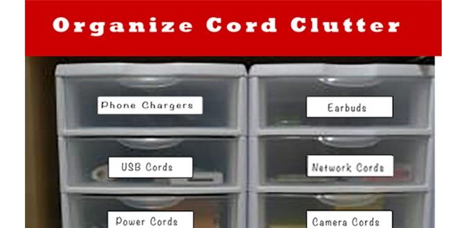 Free Printable Labels to Organize Cord Clutter | Heart of Wisdom Homeschool Blog