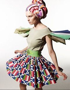An image from the BBC's now-defunct online magazine, Thread, dedicated to ethical fashion. #ethicalfashion