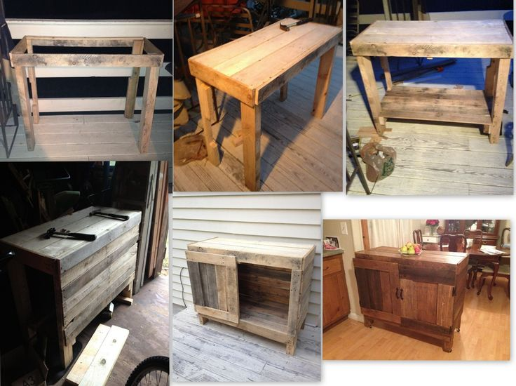 17 Best Images About Diy Kitchen Island On Pinterest Islands Pallet Kitchen Island And