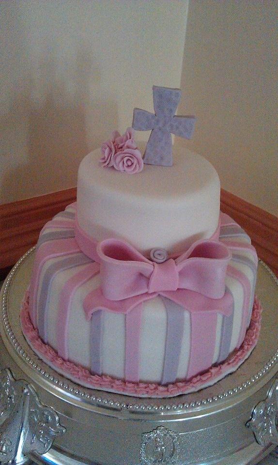 Cake Ideas For Baby Baptism : Baby girl christening cake :) My Baby Girl! Pinterest ...