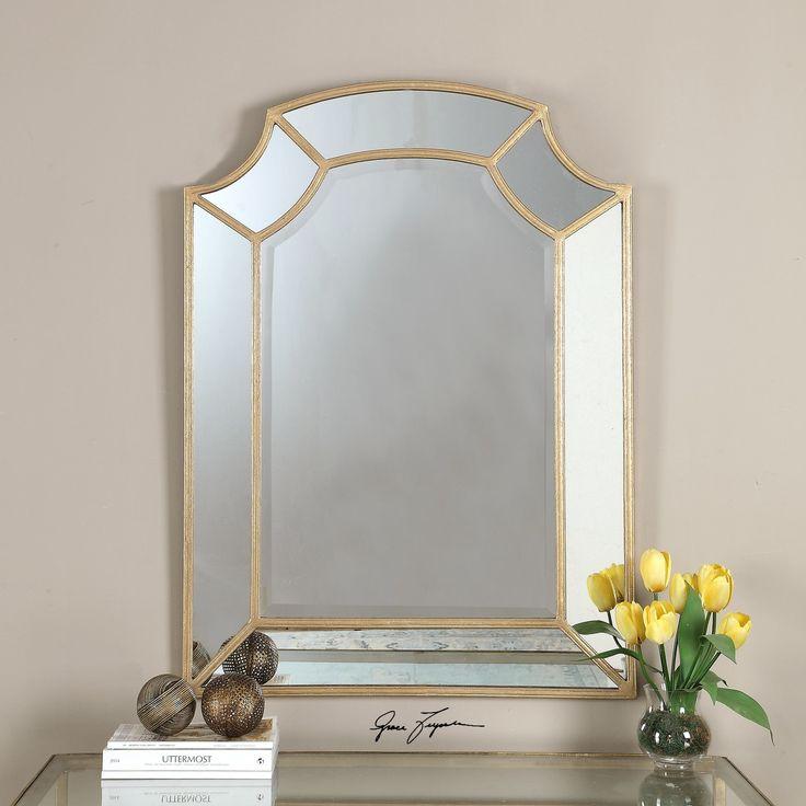 Lovely Uttermost Francoli Arch Mirror