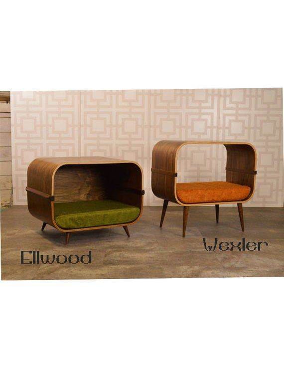 Mid Century Modern Pet Bed Dog Furniture Dog Bed Modern Pet Beds