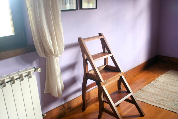 M s de 1000 ideas sobre sillas de madera plegables en for Banqueta escalera plegable