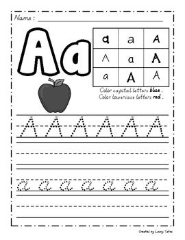 Amazing Handwriting Worksheet