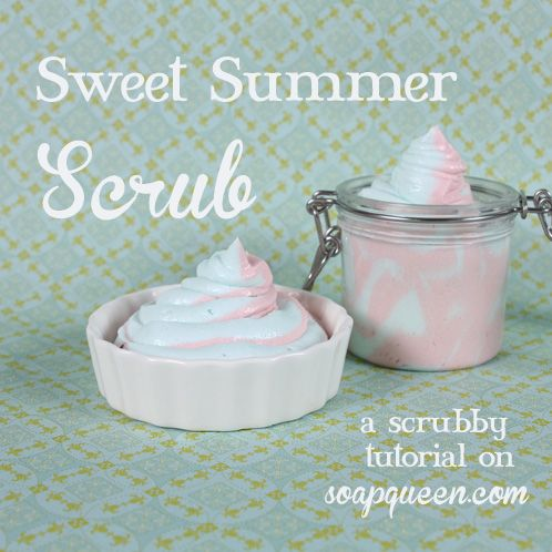 Sweet Summer Scrub is rich in Sweet Almond Oil, which is known for being lightweight and chock full of oleic and inoleic essential fatty acids.