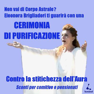 """luminolads: """"Rituali di guarigione con Eleonora Brigliadori.  Sconti per comitive e pensionati.  http://ift.tt/2dDz9G0 """""""