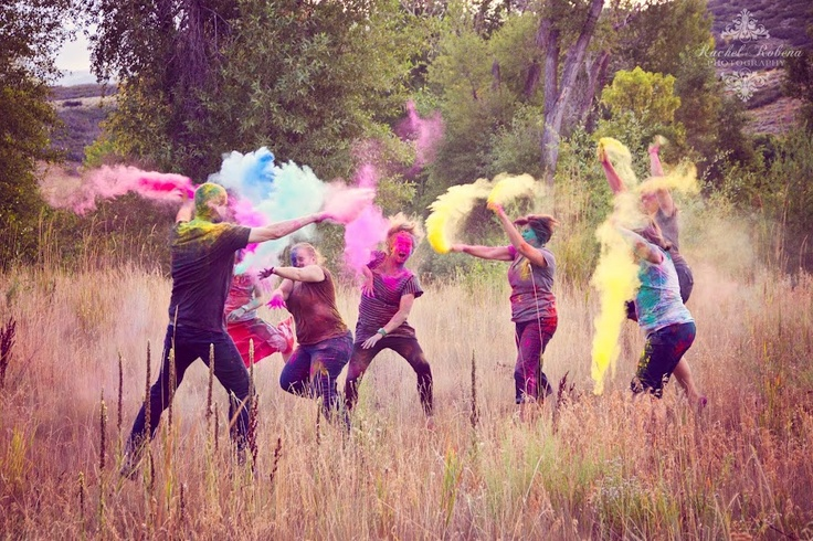 Rachel Robena Photography: Holi Powder War {blast from the past}