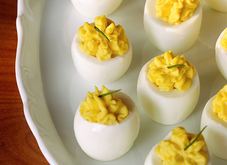 The Culinary Institute of America Food Enthusiasts :: Deviled Eggs
