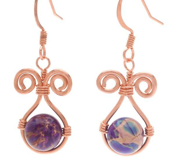 More Wire Wrapped Earrings Tutorials - The Beading Gem's Journal