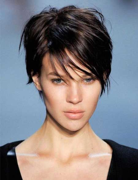 2013 Short Haircut for women   Short Hairstyles 2013 Love this but, I would feel like a boy with this cut. I do love it though. It fits her face well.