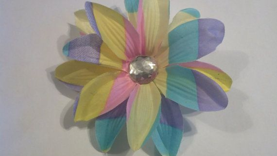Flower Hair Accessory Hawaiian Flower Hair by GloriaMillerCreation, $8.00