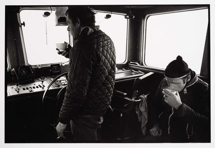 Koffiedrinken op de brug, Joost Guntenaar, 1981