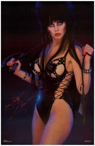 Mistress of the night elvira nude