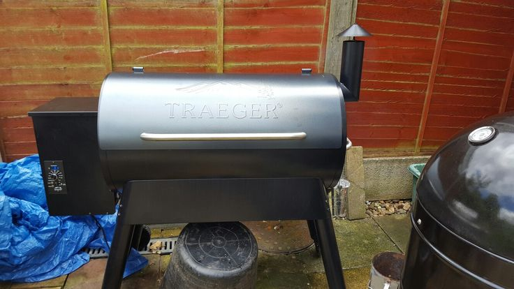 Traeger pro 34 on its first outing