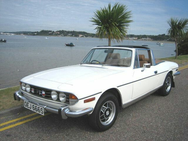 Triumph Stag such a beaut -dreamt of owning since I was a teenager