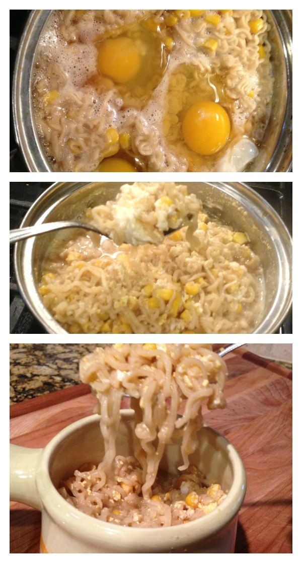Cheap Meals on a Budget!  Upgrade your Ramen Noodles with a healthier twist!  And it tastes amazing!