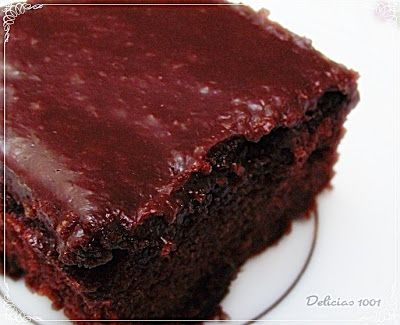 Bolo Chiffon Chocolate molhadinho / chocolate cake