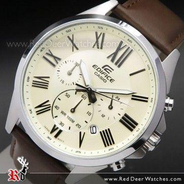 BUY Casio Edifice Chronograph 100M Stopwatch Sport Watch EFV-500L-7AV, EFV500D - Buy Watches Online | CASIO Red Deer Watches