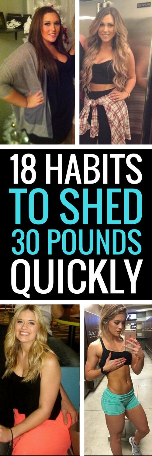 18 really healthy ways to shed weight really fast.